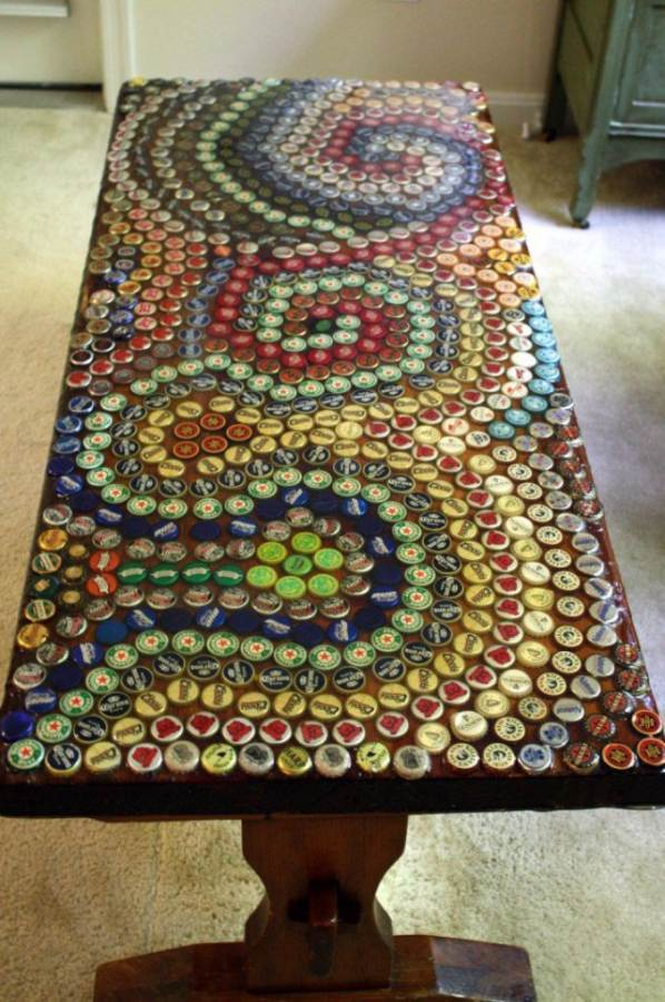 Creative Bottle Cap Craft Ideas (DIY Recycle Projects) (1)