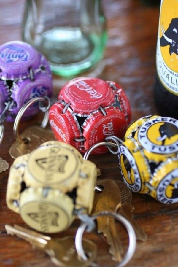 Creative Bottle Cap Craft Ideas (DIY Recycle Projects) (13)