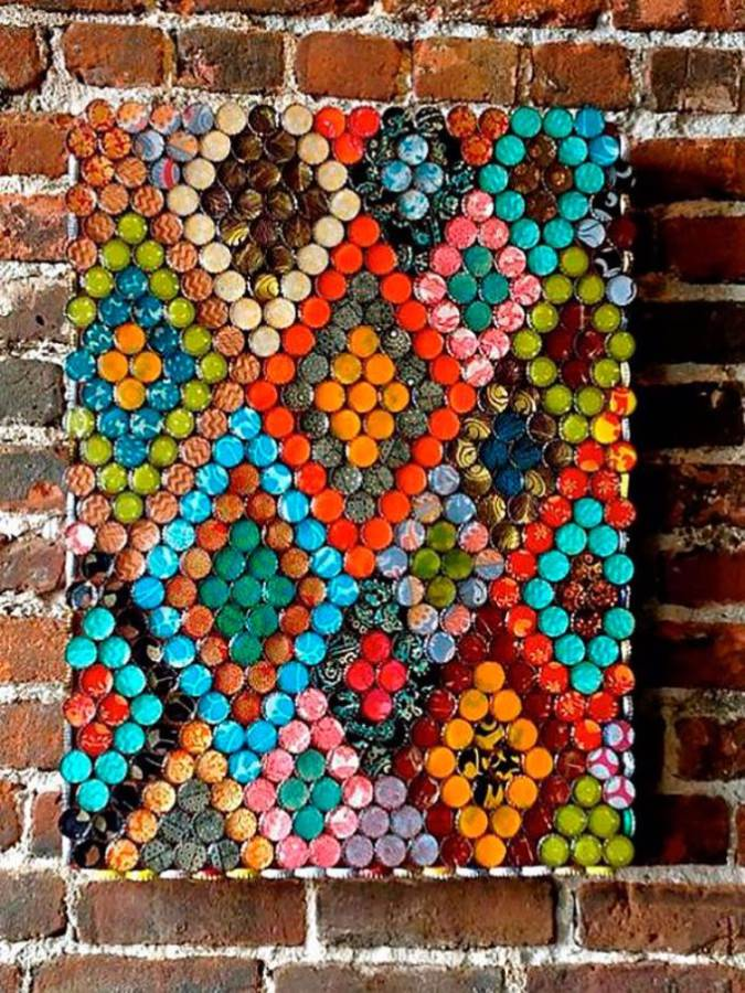 Creative Bottle Cap Craft Ideas (DIY Recycle Projects) (4)