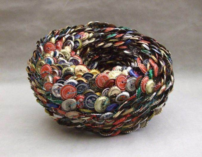 Creative Bottle Cap Craft Ideas (DIY Recycle Projects) (6)