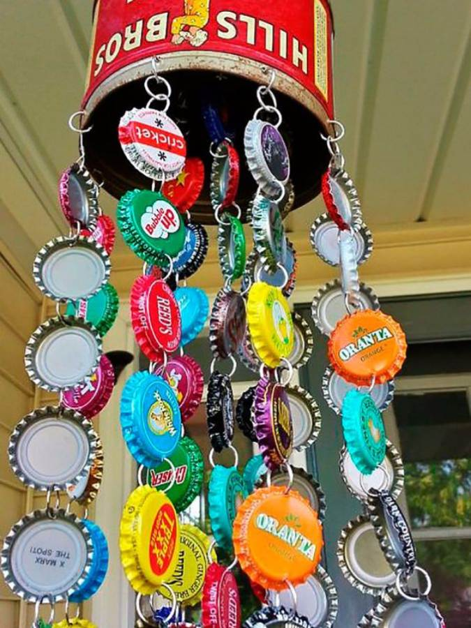Creative Bottle Cap Craft Ideas (DIY Recycle Projects) (7)