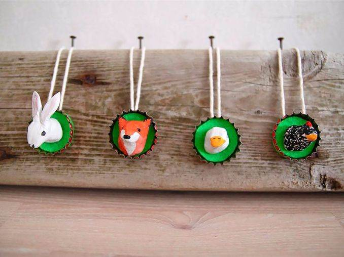Creative Bottle Cap Craft Ideas (DIY Recycle Projects) (8)