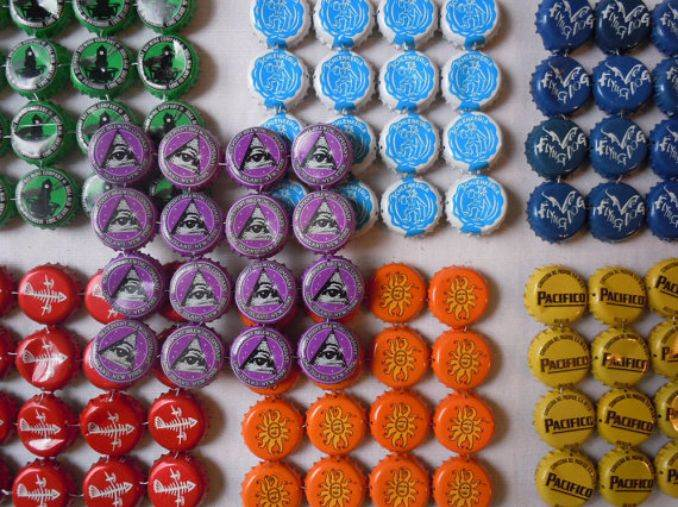 Creative Bottle Cap Craft Ideas (DIY Recycle Projects) (9)
