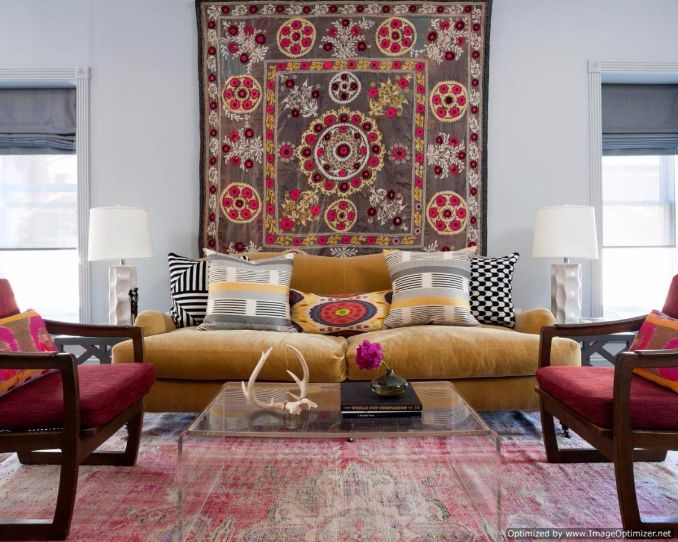 How to Turn a Rug Into a Wall Art Tapestry