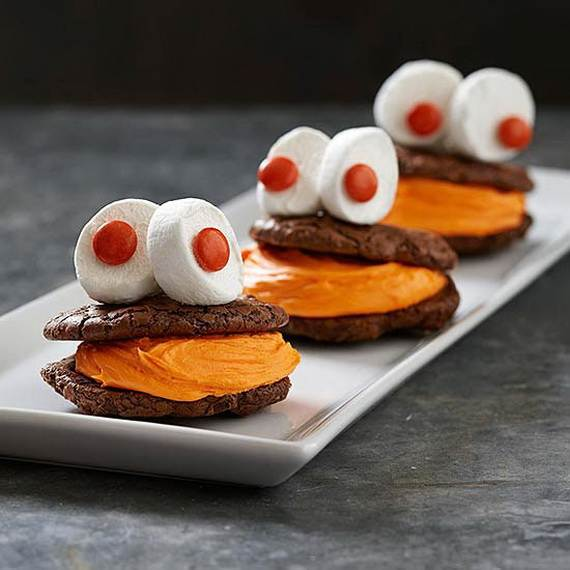 Creepy Halloween Ideas, 50 Edible Decorations for Halloween Party Table