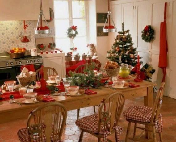 50 Cozy Christmas Kitchen Decor Ideas
