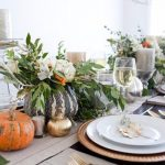 Elegant and Easy Thanksgiving Table Decorations Ideas        ‎