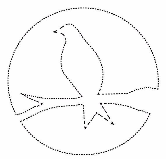 pumpkin template bird  Pumpkin Carving template (7) – family holiday.net/guide to ...