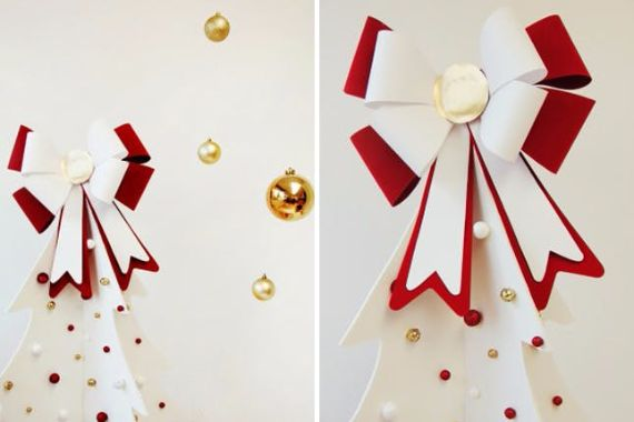 BOW CHRISTMAS TREE TOPPERS ‎