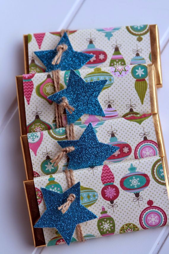 Chocolate gift-wrapped  (4)
