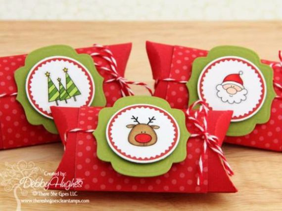 Christmas Gift Ideas Using A Single Mold Pillow Boxes Family Holiday Net Guide To Family Holidays On The Internet