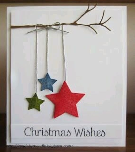 Easy Diy Christmas Cards.Diy Christmas Cards Quick And Easy To Make Family Holiday