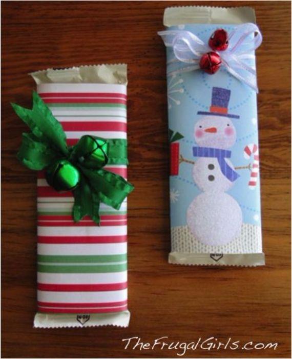 DIY Christmas gift wrapping
