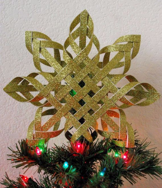 paper-christmas-trees topper