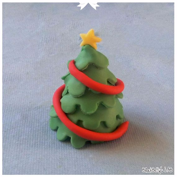 Polymer clay for Christmas ‎