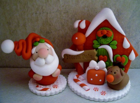Homemade Polymer Clay For Christmas Decorations Family Holiday Net Guide To Family Holidays On The Internet