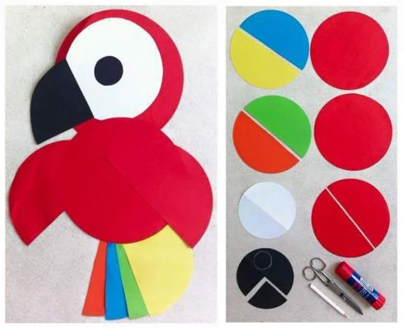 Craft Ideas with Paper Circles 