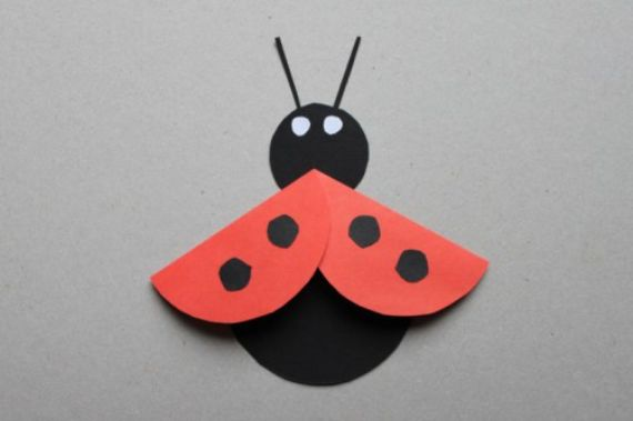 How to Make Craft Ideas with Paper Circles for Children  (16)