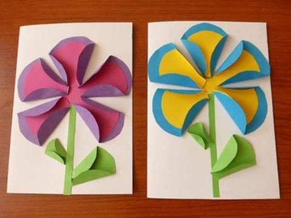 How to Make Craft Ideas with Paper Circles for Children  (23)