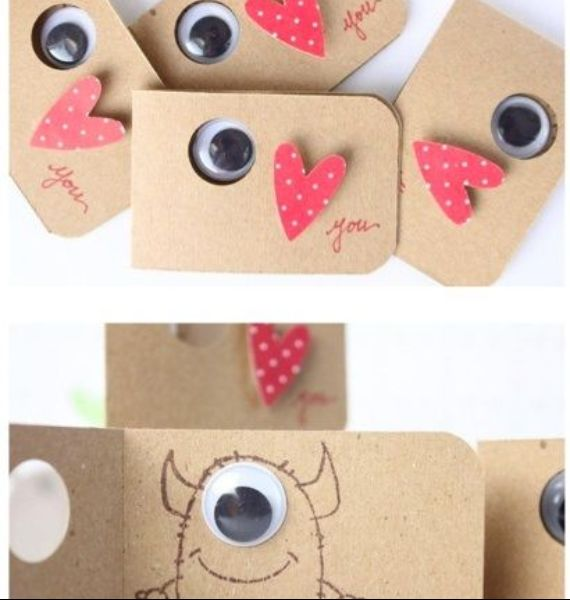 Kids Valentine Day Craft ideas (7)