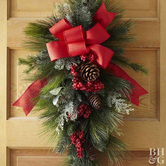 14 Diy Christmas Wreaths Ideas Family Holiday Net Guide