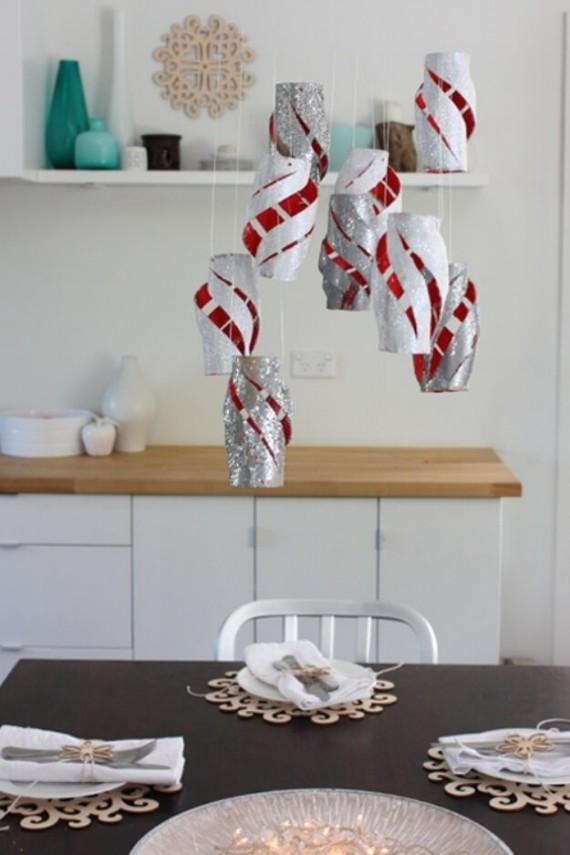 Creative Hanging Lanterns Dinner Décor
