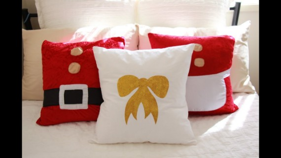 DIY Christmas Cushions 2