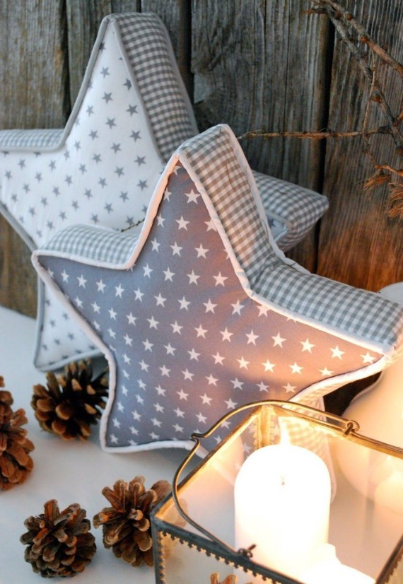 DIY Christmas Cushions