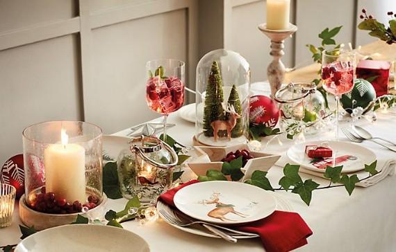 Christmas Table Decoration Ideas.Inspiring Christmas Table Decoration Ideas Family Holiday