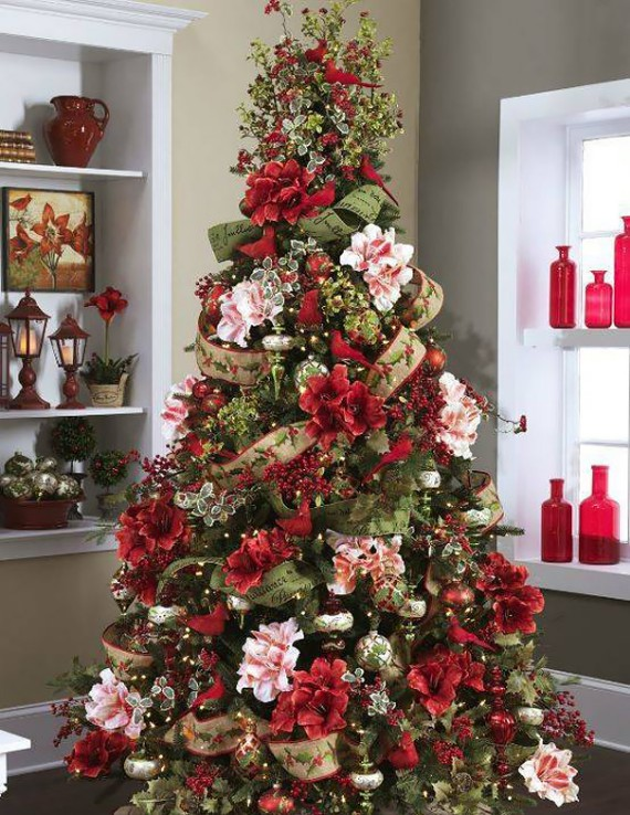 Flower Christmas Tree Decoration 1