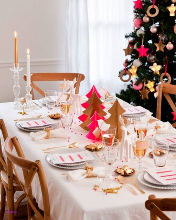 DIY Christmas table decorations crafts (1)