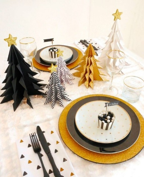 Table Christmas crafts