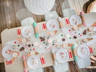 children's Christmas table ideas
