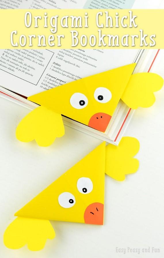 chick corner bookmark