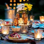 HOW TO PUT A VERY ROMANTIC TABLE SETTING