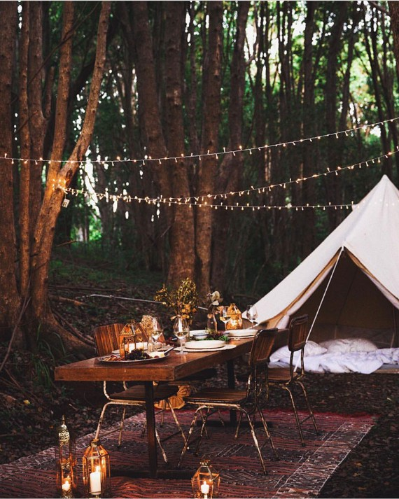 Turn your Back Garden into a Bohemian Fairyland