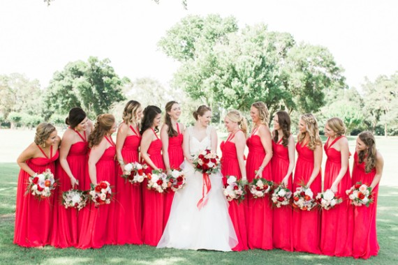 red-bridesmaid-dresses