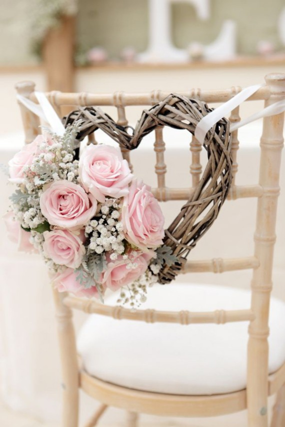 wedding-chair-decorations-with-pink-roses-and-heart-shaped-wreath