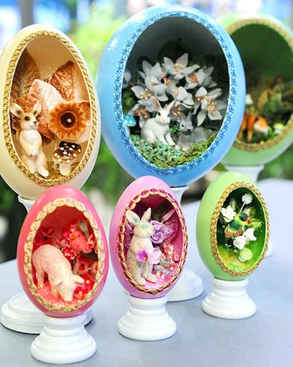 Wunderliches Fenster-Ei