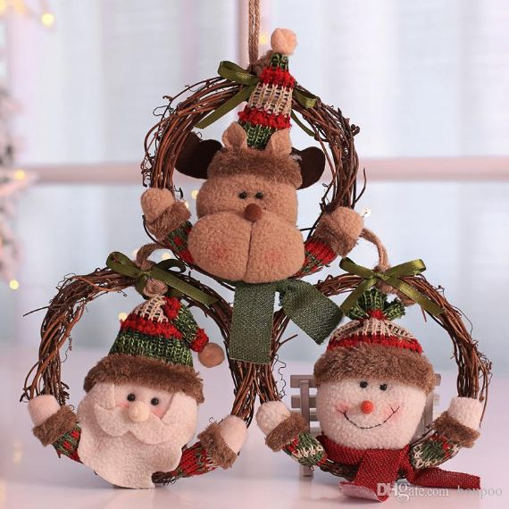 3-styles-snowman art-wreath- to Inspire You This CHRISTMAS