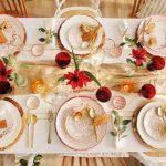 Christmas table settings ideas