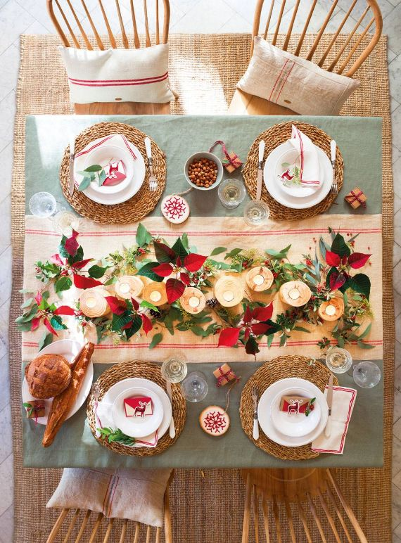 80 BEST CHRISTMAS TABLE IN THE WORLD 34