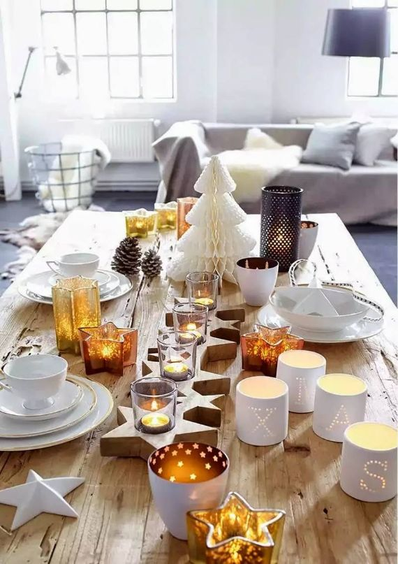 80 BEST CHRISTMAS TABLE IN THE WORLD 44