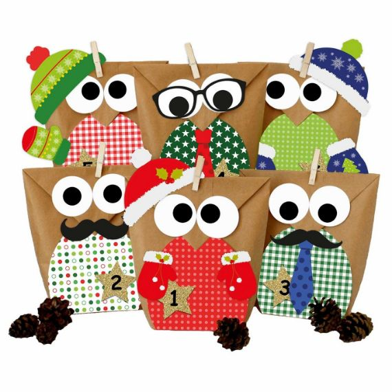 CHRISTMAS OWLS- ADVENT CALENDER