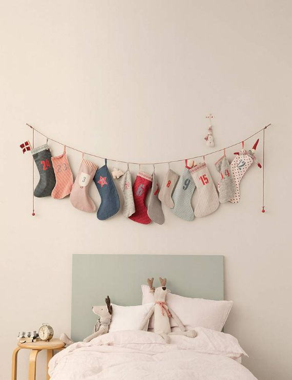 CHRISTMAS SOCKS ADVENT CALENDAR;