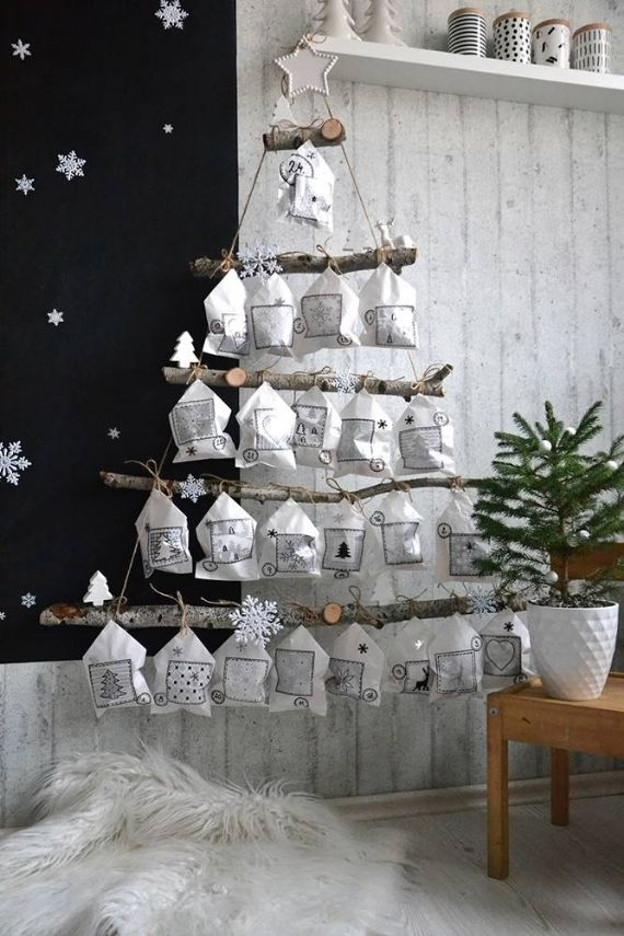 CHRISTMAS TREE - ADVENT CALENDAR