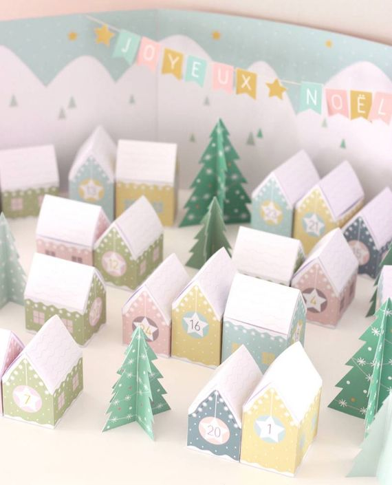 DIY ADVENT CALENDARS for children and adults