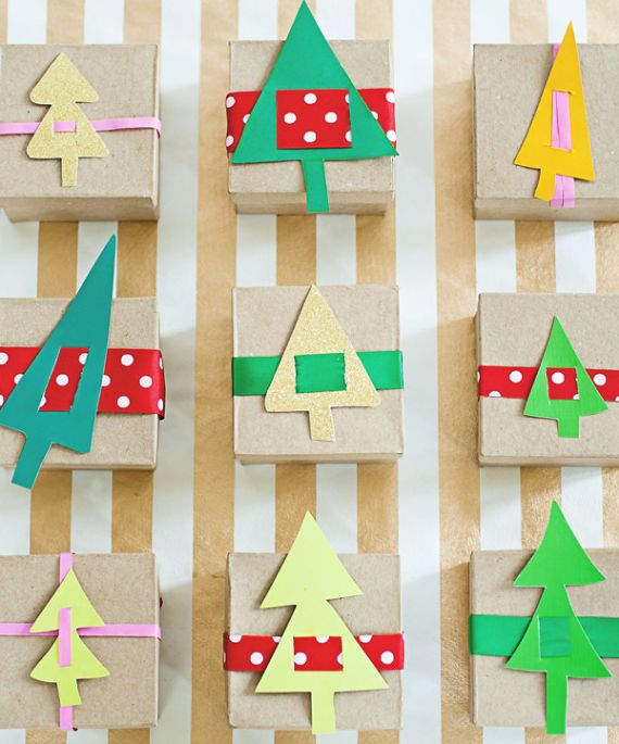 DIY ADVENT CALENDERS WITH CARDBOARD BOXES
