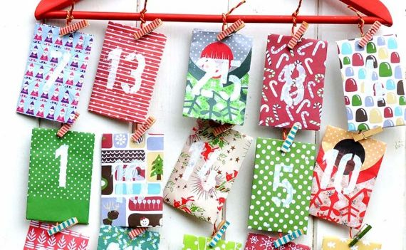 DIY ADVENT CALENDERS for children and adults
