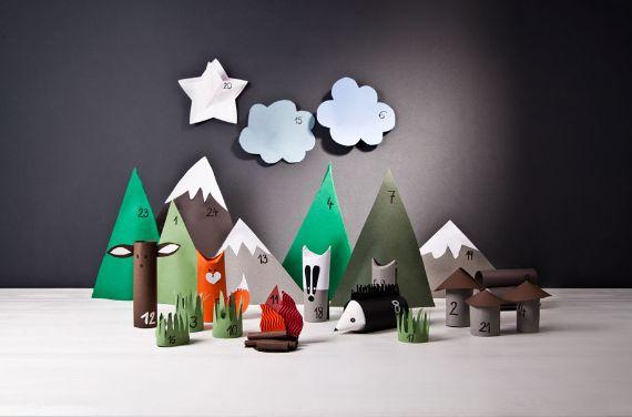 DIY Advent Calendar for Children